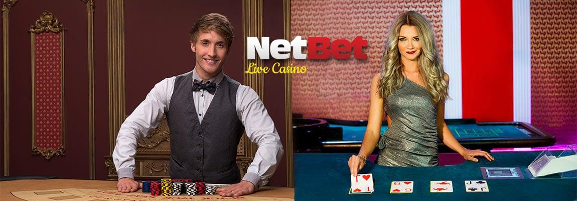 live casino Netbet online