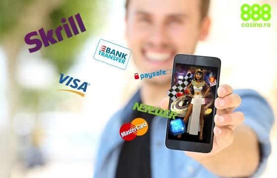metode de plată la 888 online