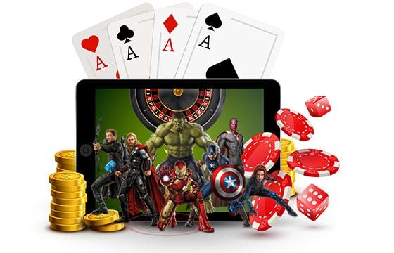marvel progressive jackpots playtech online