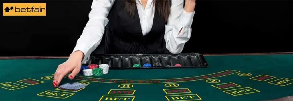 Betfair Casino live pentru pasinoați