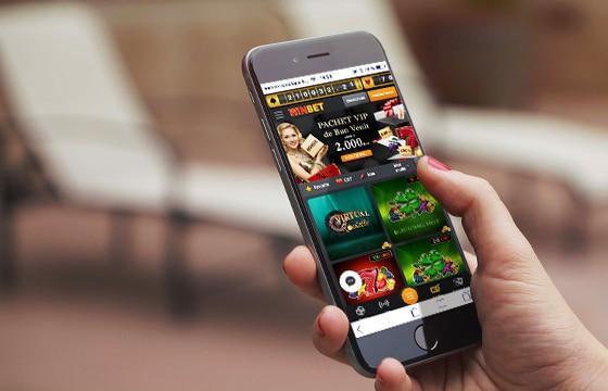 Winbet mobile pentru Android și IOS