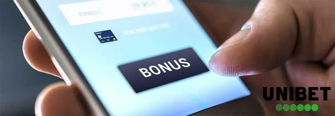 Ia acum noul bonus bun venit Unibet