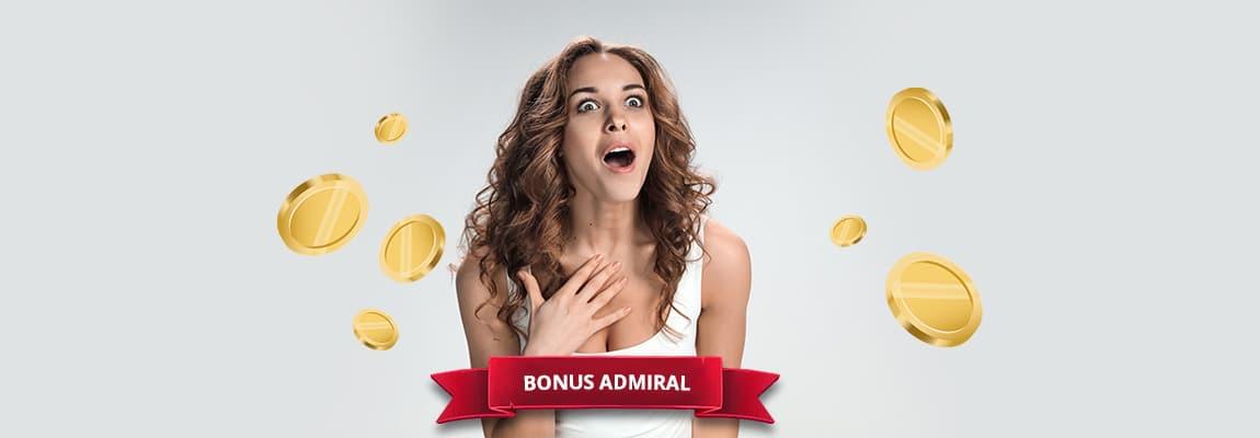 Jenis bonus sambutan Admiral
