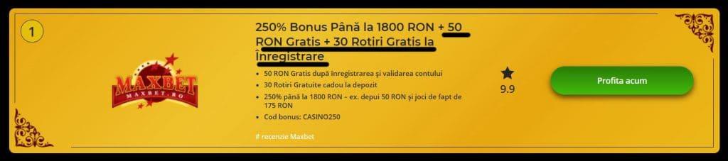 🥇 Bonus Fără Depunere - Oferte Exclusive IAN 🥇