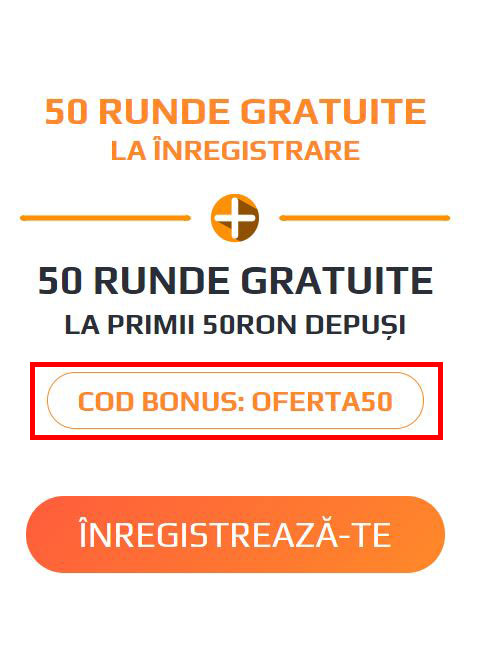 Cod bonus de bun venit
