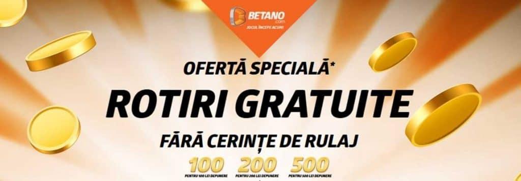 500 putaran bonus Betano gratis