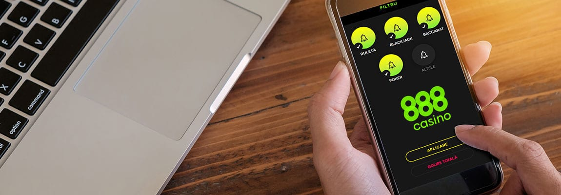 aplicația 888 casino pe mobil