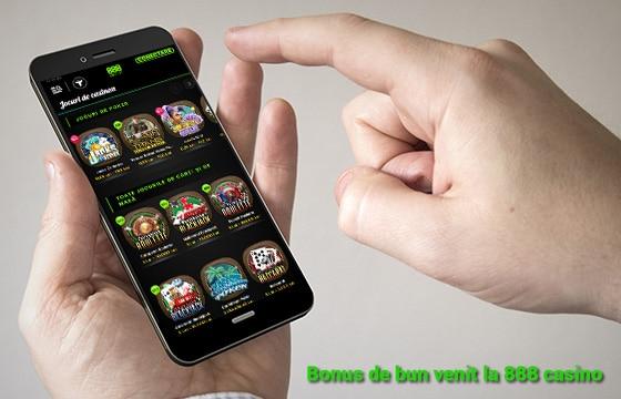 888 mobile și bonusurile de bun venit