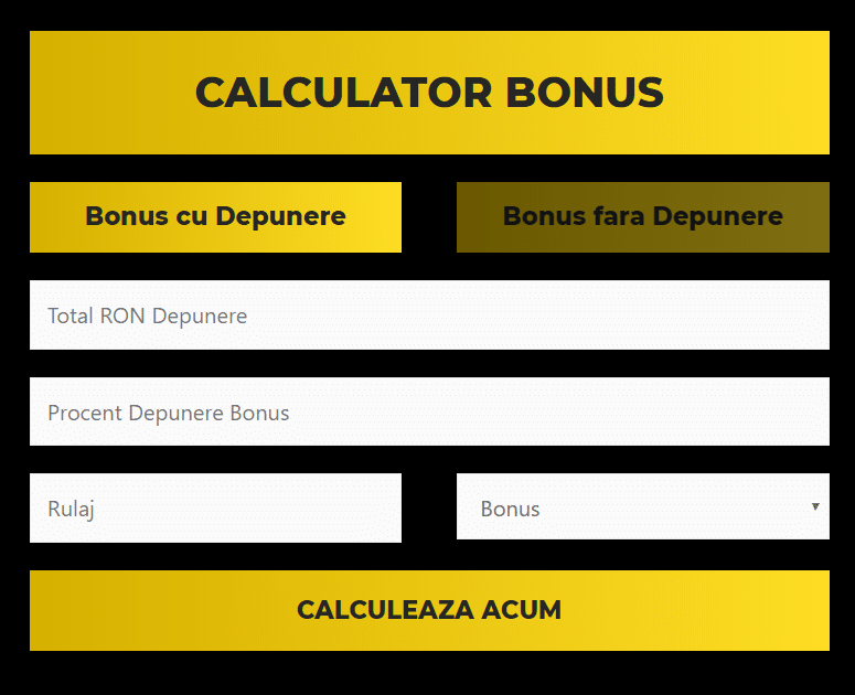 calculator bonus