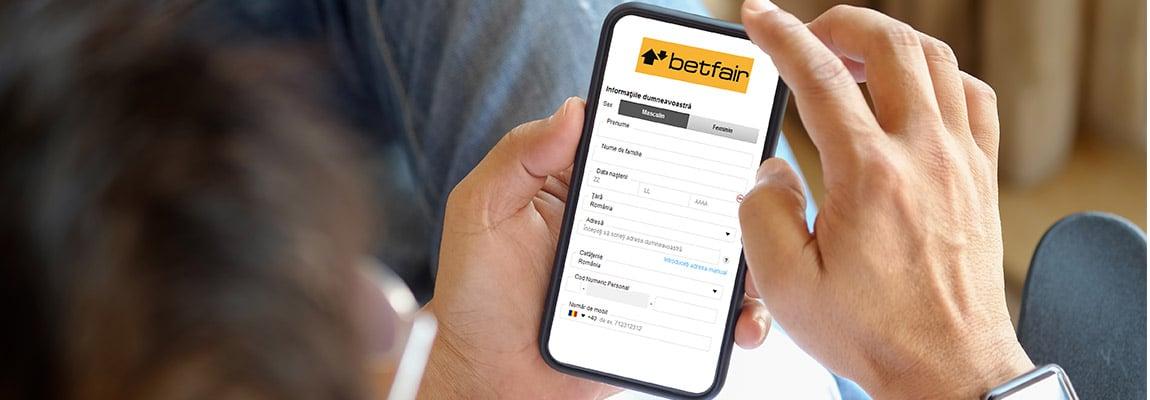Procesul de verificare cont Betfair explicat