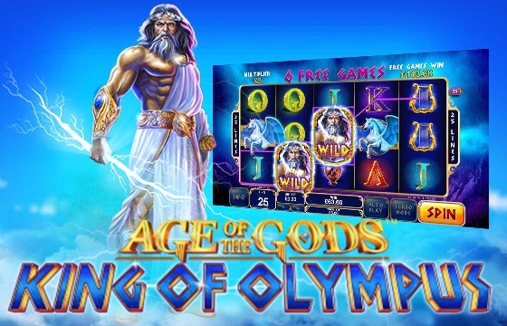 Age of Gods King of Olympus PlayTech
