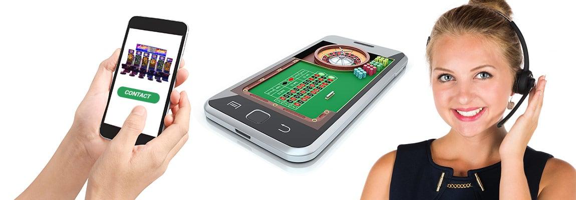 metode de contact casino