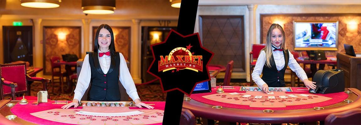 Jocuri disponibile la secțiunea Casino Live Maxbet