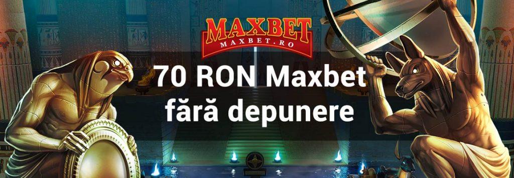 70 RON Maxbet