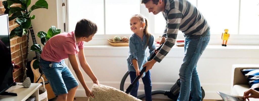 Activități în casă alături de copii