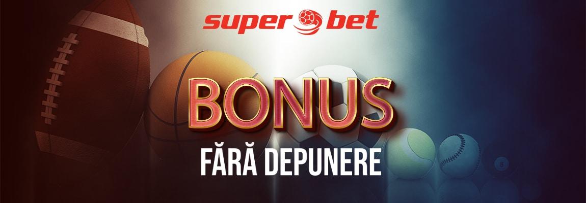 Bonus fără depunere Superbet sport de 32 RON la înregistrare