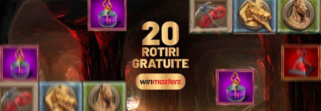 promoții Winmasters cu depozit