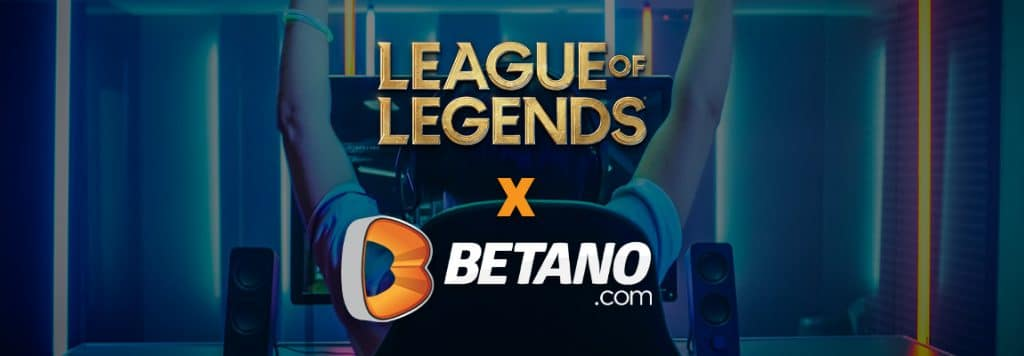 Pariuri League of Legends Betano