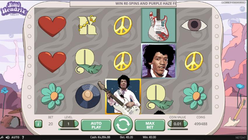 Slot Jimi Hendrix