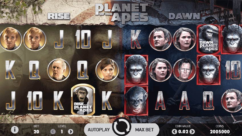 Slot Planet of the Apes