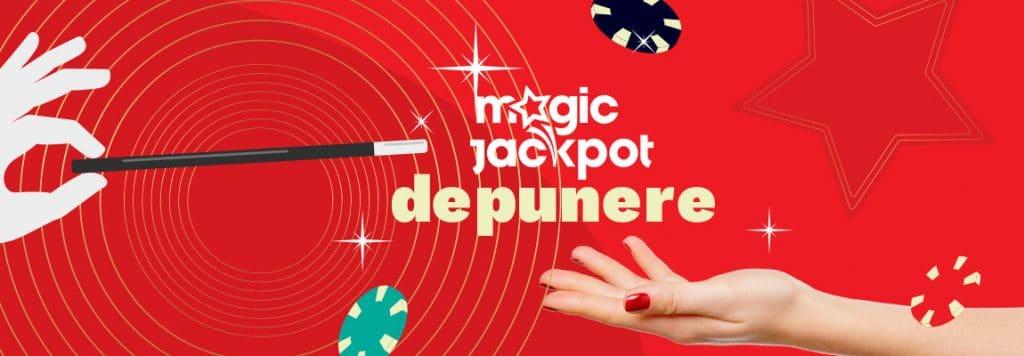 depunere magic jackpot