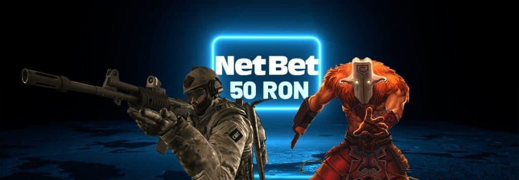 Freebet Netbet 50 RON