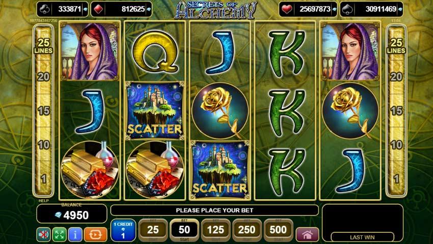 Slot Secrets of Alchemy