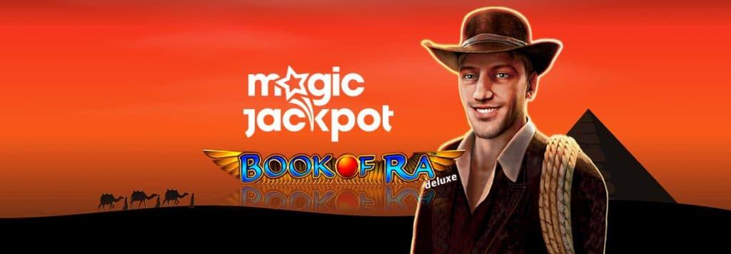 Book of Ra Magic Jackpot
