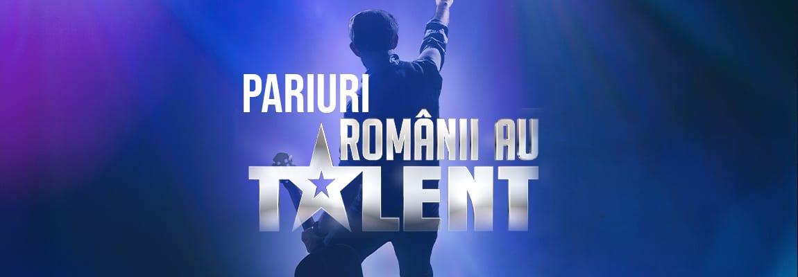 Cum pariezi la Românii au talent Betano