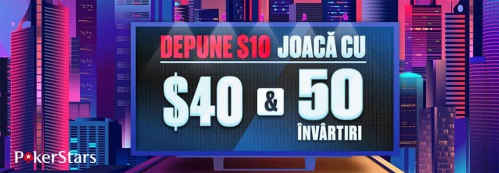 pokerstars romania bonus casino rotiri gratis