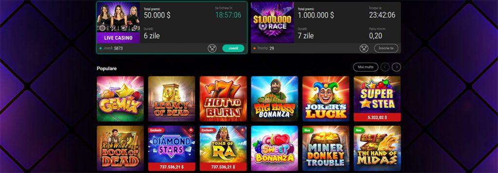 pokerstars romania jocuri casino