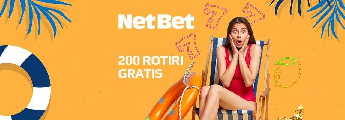 Netbet 200 free spins