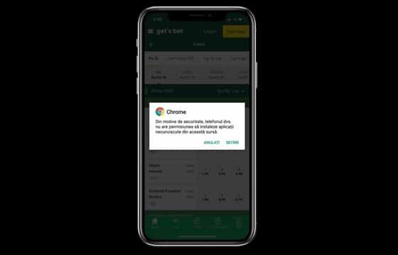 ghid instalare gets bet app ios