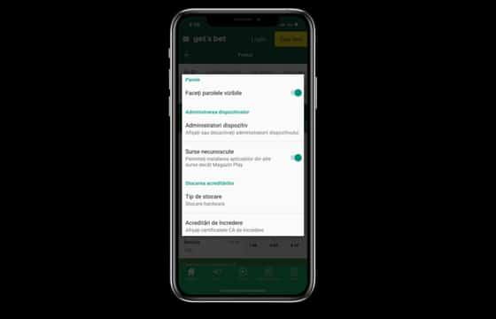 ghid de instalare gets bet aplicatie android