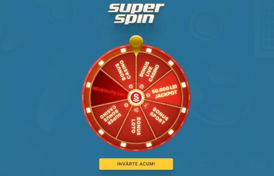 roata norocului superspin superbet