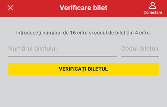 casa pariurilor verificare bilet dupa cod