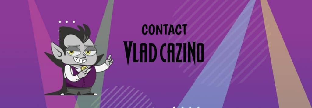 Vlad Cazino contact
